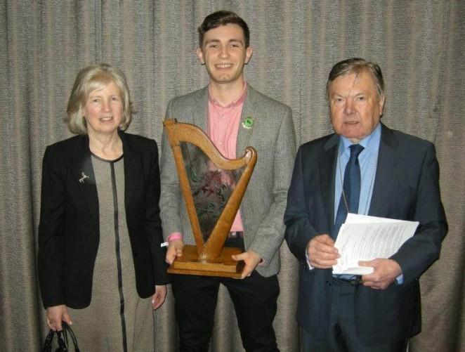 derwen trophy presentation